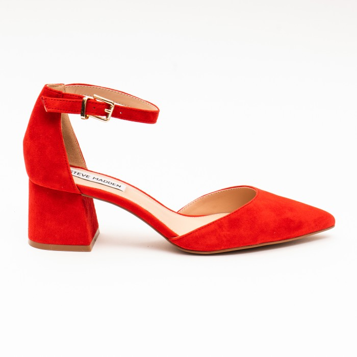 Steve Madden Mortina Red Suede