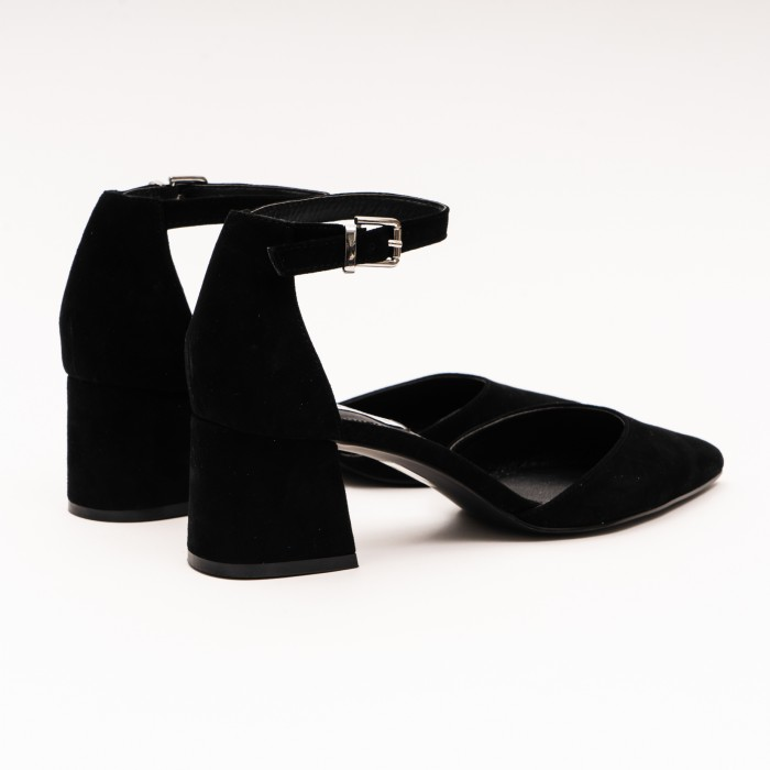 Steve Madden Mortina Black Suede