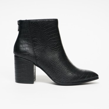 Steve Madden Jillian Black Croco