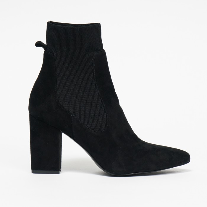 Steve Madden Richter Black Kid Suede