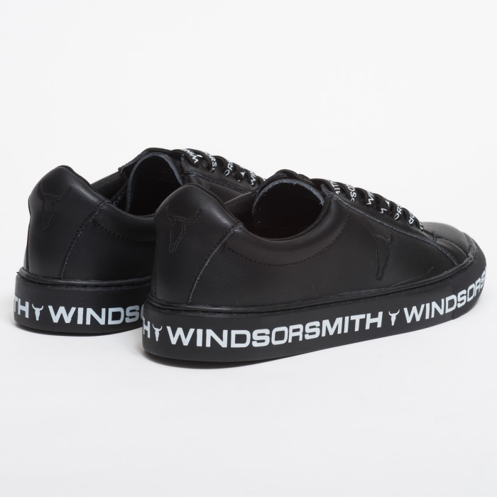 Windsor Smith Amalia Black Leather